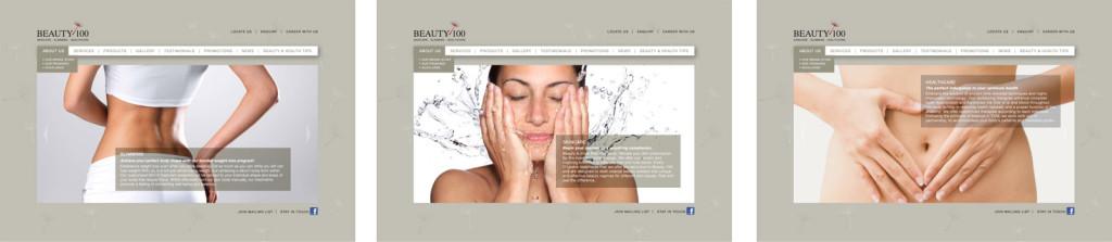 Beauty100-Web-Design
